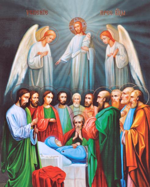 Икона Успение Пресвятой Богородицы (icon-00005)