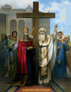 икона Воздвижение Креста Господня (icon-00051)