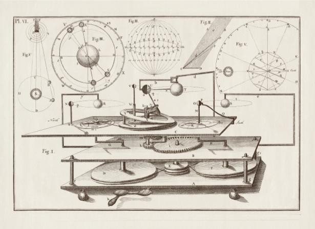 астрономия, астрономическая иллюстрация (map-0000061)