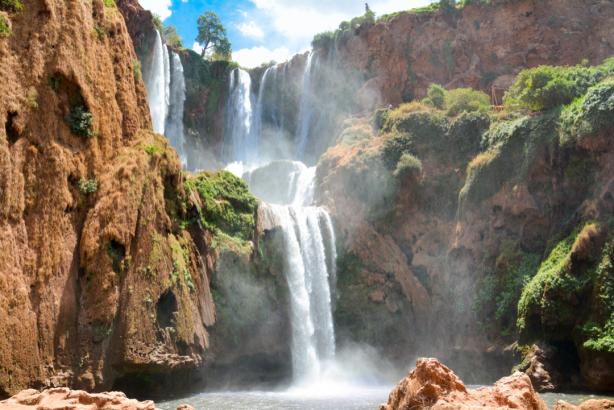 Фотообои Водопады Узуд (nature-0000856)