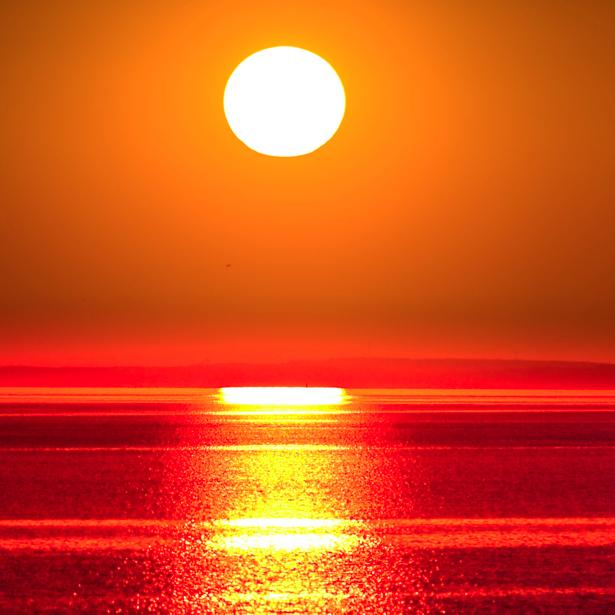 Фотообои море закат солнце (nature-00213)
