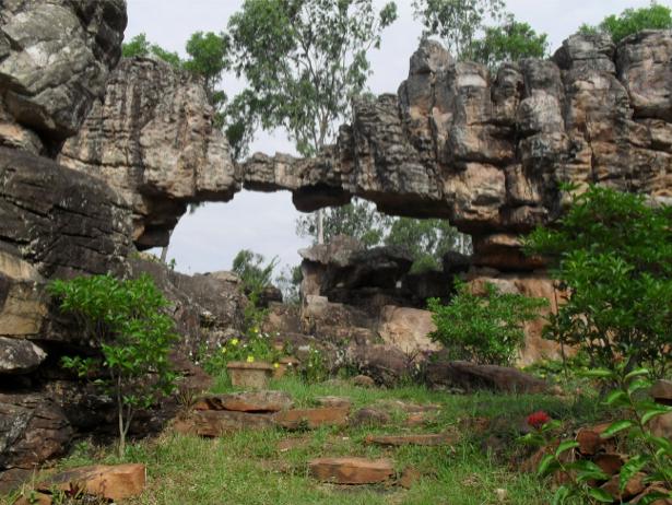 Фотообои каменная арка горы (nature-00267)