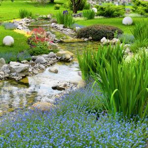 Фотообои ручей для спальни (nature-00445)