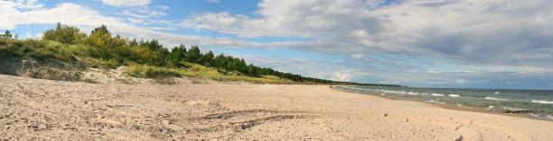 Фотообои панорама реки с песком (panorama_0000004)