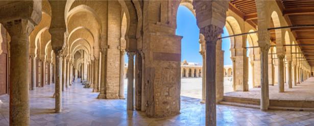 Фотообои Терраса мечети с арками (prg-151)