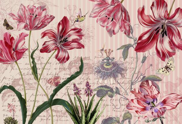 Фотообои Тюльпановый рай (prg-159)