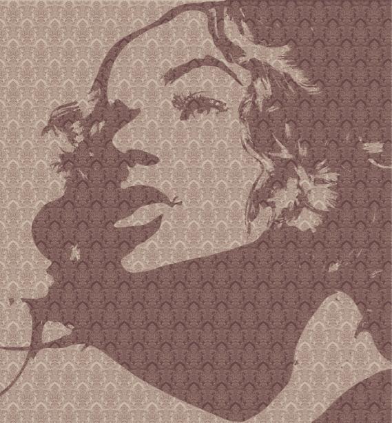 Фотообои лицо девушки (printmaking-0000110)