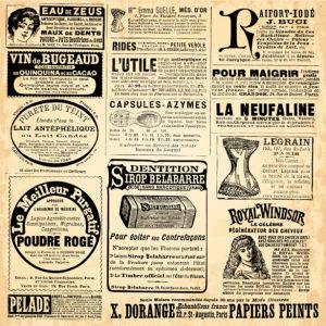 Фотообои старая газета ретро (retro-vintage-0000384)