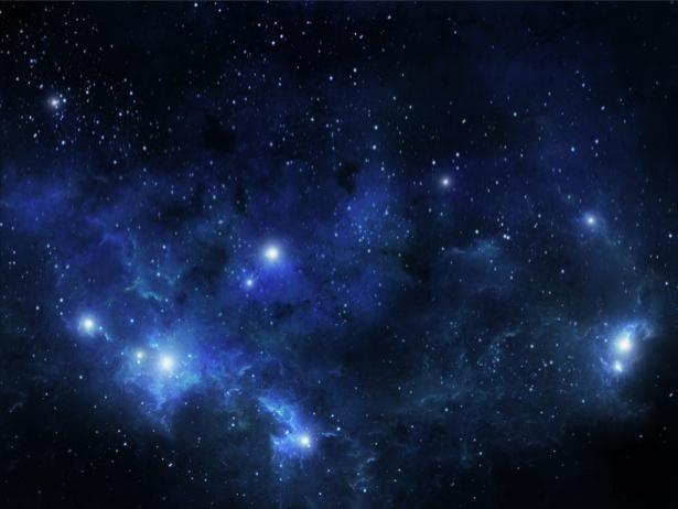 Фотообои звезды в космосе (space-0000082)