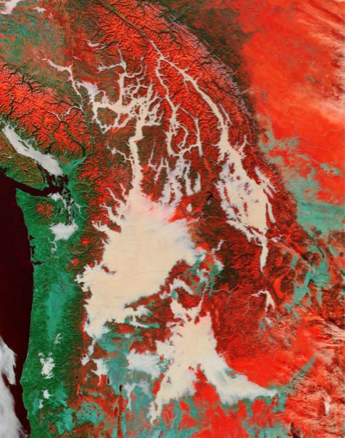 Фотообои 3д яркая основа для стен (terra-00083)