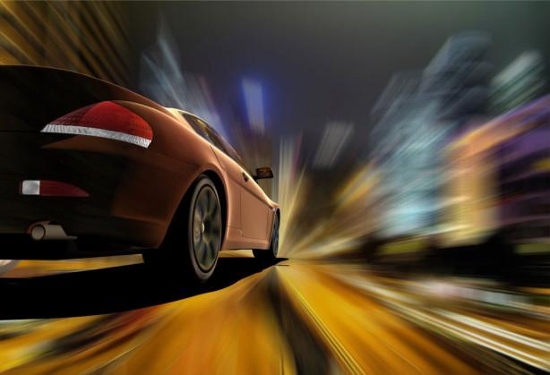 Фотообои авто скорость (transport-291)