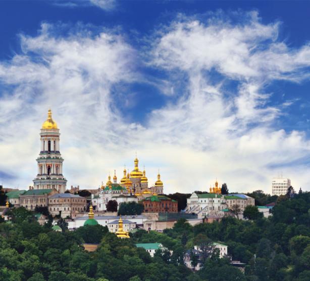 Фотообои Киево-Печерская лавра (ukr-37)