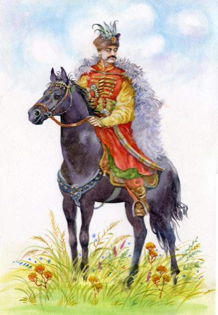 Украинский казак (ukraine-0231)