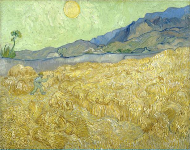Ван Гог пейзаж (art-0000300)