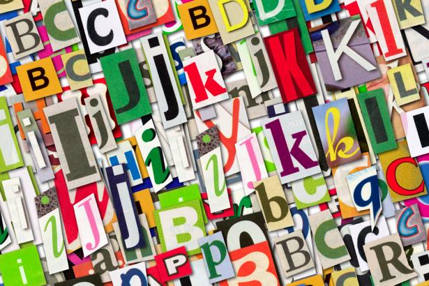 Фотообои буквы алфавит (background-0000177)
