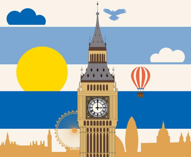 Фотообои Англия для детей (child-582)