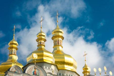 Фотообои собор церковь небо (city-0000313)