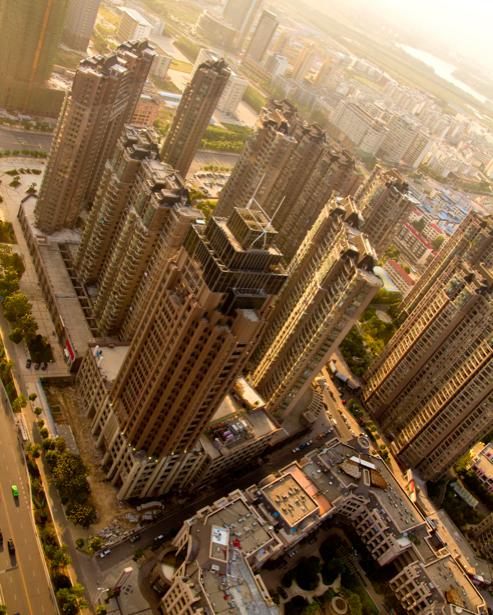 Фотообои вид сверху на (city-0000581)