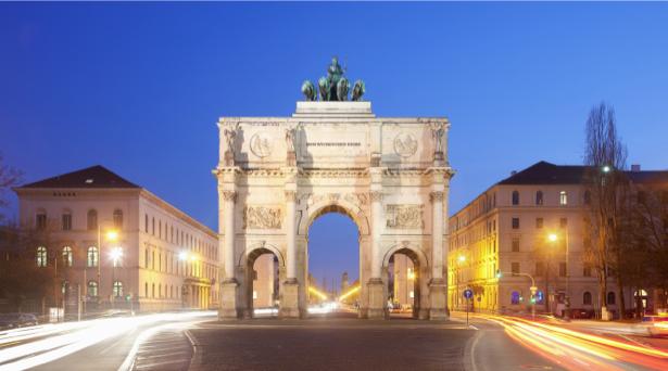 Фотообои ворота победы мюнхен (city-0001083)