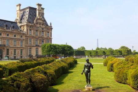 Фотообои Лувр Париж музей (city-0001319)