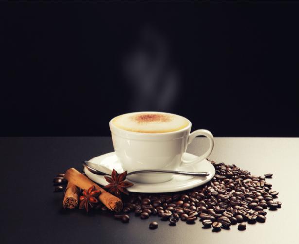 Фотообои кухня чашка кофе ваниль (food-0000137)