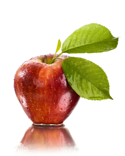 Фотообои кухня красное яблоко (food-0000190)