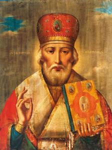 Икона Николая Чудотворца (icon-00044)