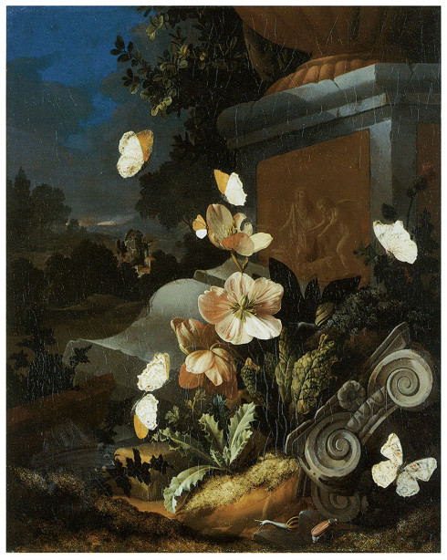цветы Голландский натюрморт (pf-20)