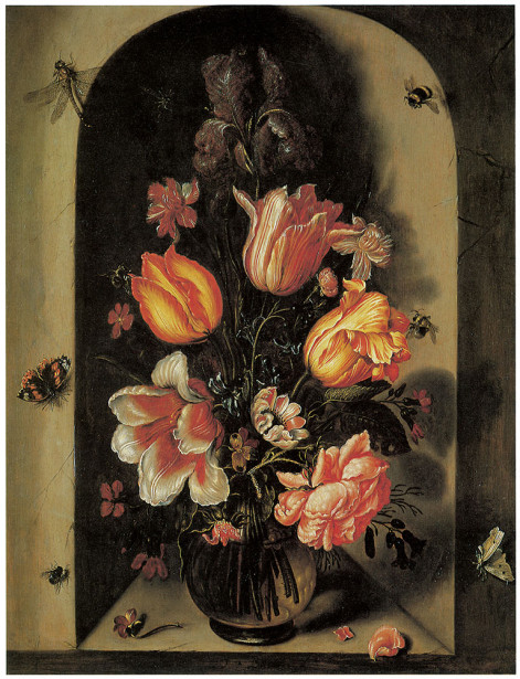 картина бабочки и цветы (pf-5)