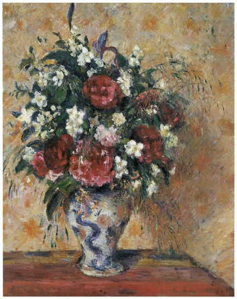 цветы в вазе Камиль Писсаро (pf-90)