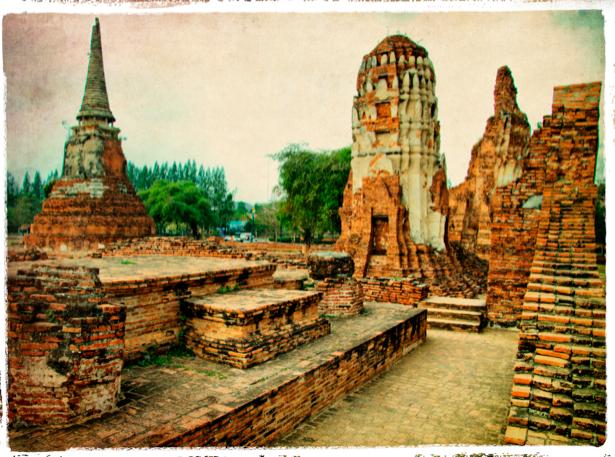 Фотообои Камбоджи храм (retro-vintage-0000112)