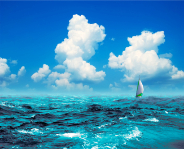 Фотообои фото море парусник (sea-0000080)