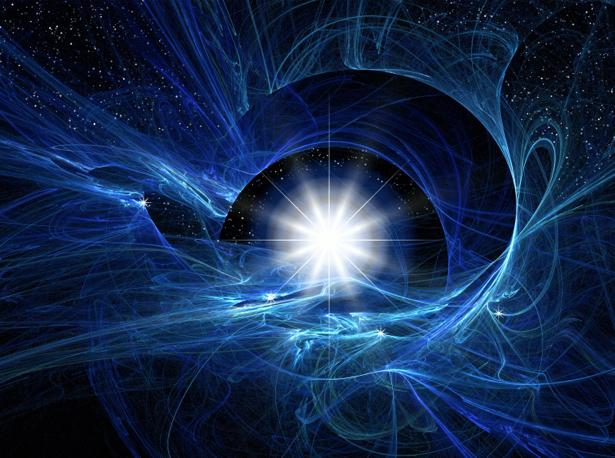 Фотообои звездный шлейф (space-0000039)
