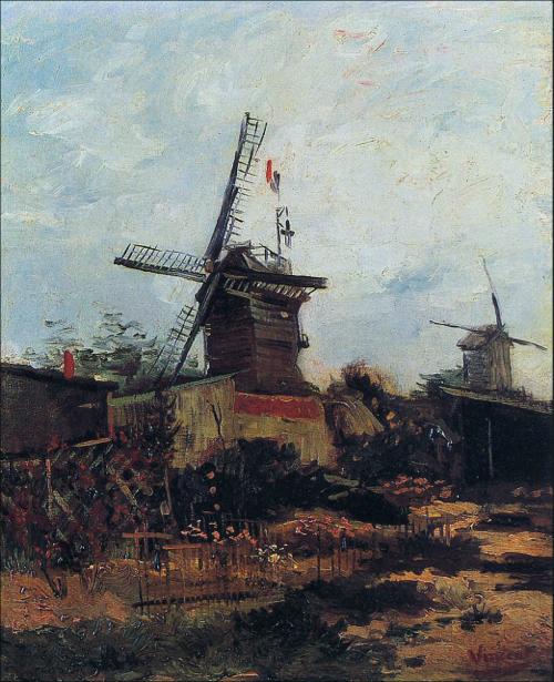Ван Гог пейзаж (art-0000211)