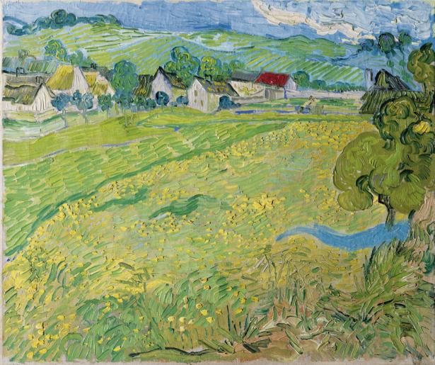 Ван Гог пейзаж (art-0000290)