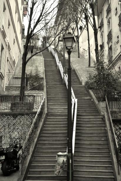 Фотообои Монмартр, Париж, Франция (city-0000201)