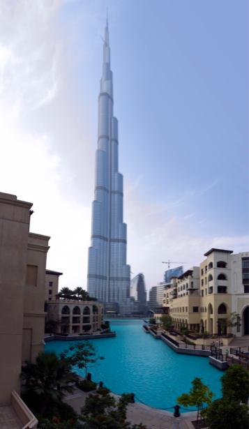 Фотообои Бурдж-Хали́фа, Дубаи, ОАЭ (city-0000206)