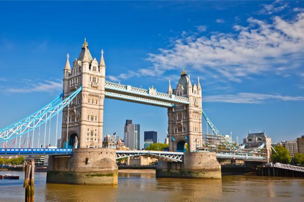 Фотообои английский мост фото (city-0001033)