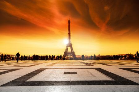 Фотообои эйфелевая башня Парижа (city-0001293)