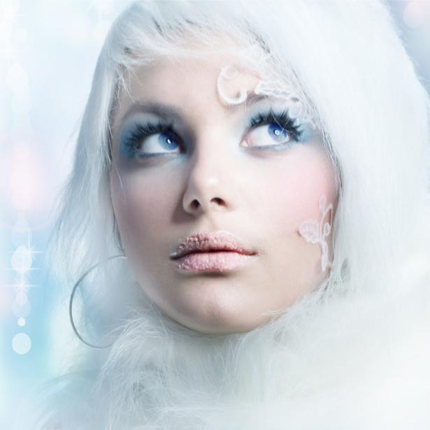 Фотообои девушка зимнее настроение (glamour-0000136)