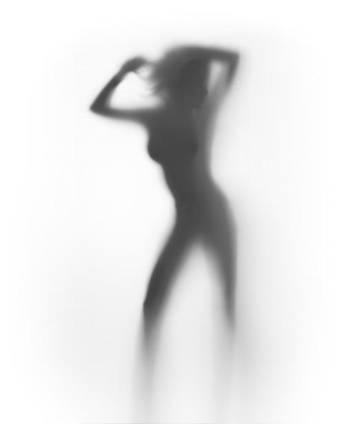 Фотообои фигура в контражуре (glamour-0000166)