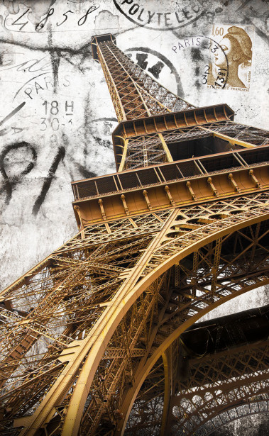 Фотообои французская башня (ha3)