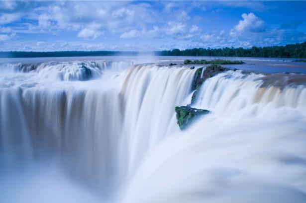 Фотообои природа водопад большой (nature-00369)