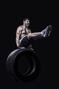 Фотообои Балансировка на шине (sport-186)