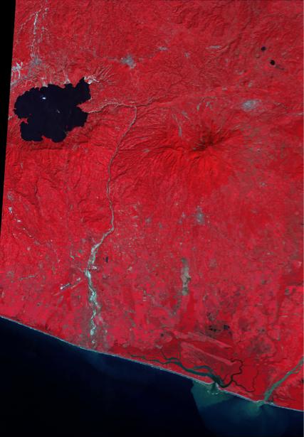 Фотообои фото красные горы (terra-00128)
