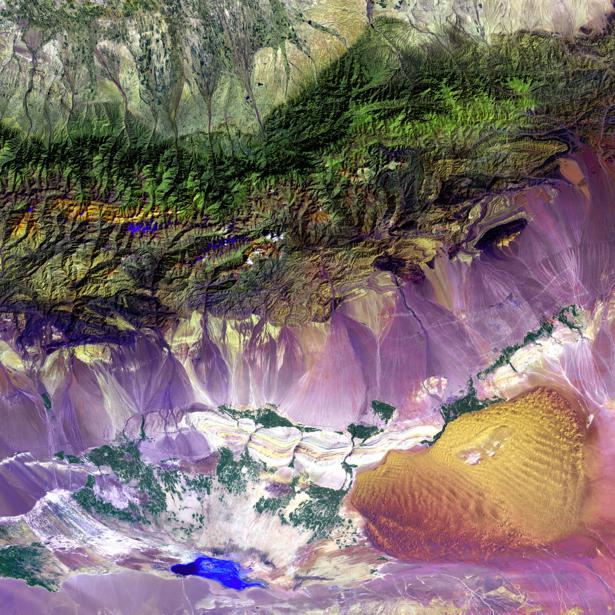 Фотообои на стену NASA фон планета (terra-00171)