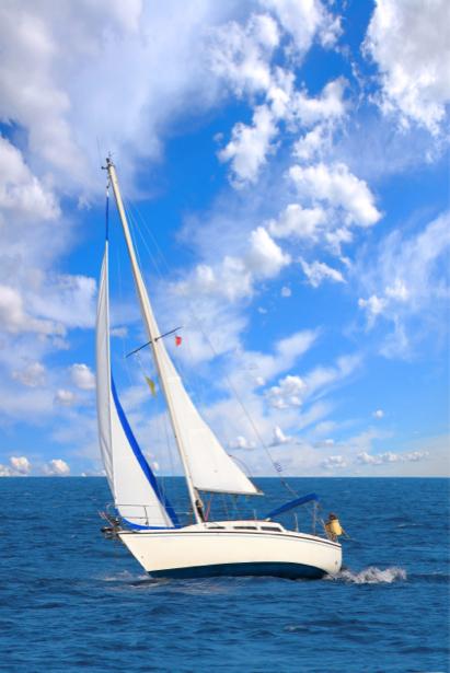 Фотообои яхта фото (transport-0000091)