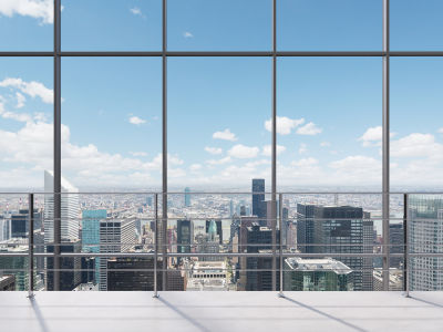 Фотообои Вид на город (win-17)