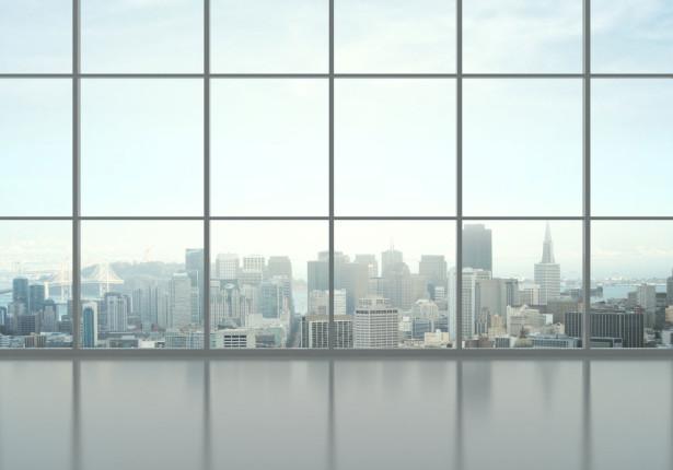 Фотообои вид из окна на город (win-4)